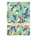 Mosaico enrrollado abstracto anaranjado colorido d iPad mini coberturas