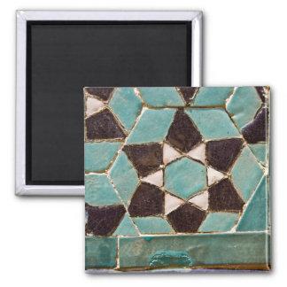 Mosaico esmaltado de la teja iman de frigorífico
