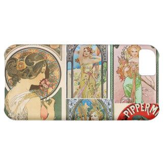 Mosaico francés del arte de las mujeres de Nouveau
