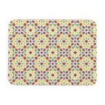 Mosaico geométrico de arabescos de Marruecos. Rectangle Magnet