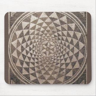Mosaico geométrico de Zaragoza Salduba Mouse Pads