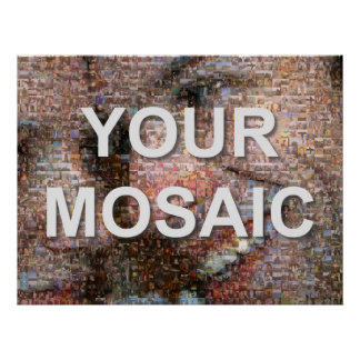 Mosaico grande (paisaje) posters