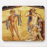 Mosaico HERMOSO de Pompeya Tapete De Ratón