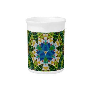 Mosaico histórico hermoso jarra