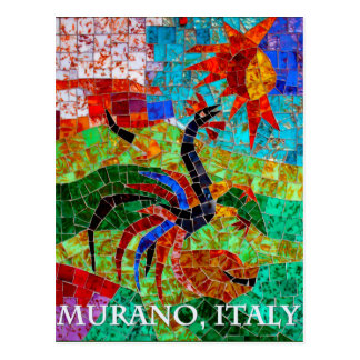 Mosaico II de Murano Postal