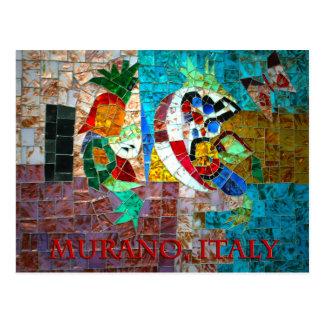 Mosaico III de Murano Tarjeta Postal