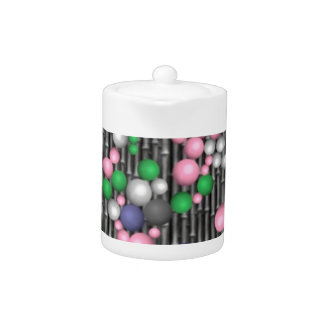mosaico loco bolas rosadas