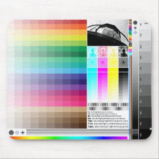 Mosaico Mousepad del color Tapete De Ratón