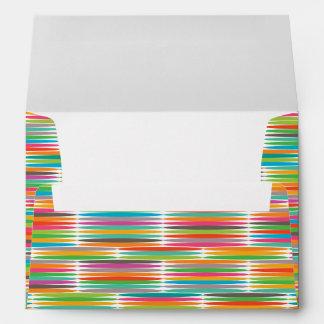 Mosaico multicolor abstracto del arco iris del