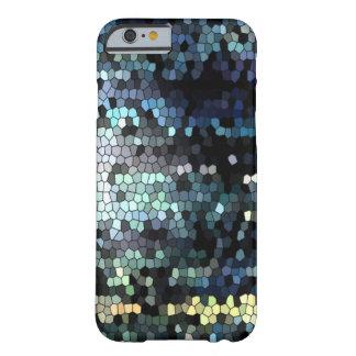 Mosaico para el caso del iPhone 6 Funda De iPhone 6 Barely There