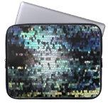 Mosaico para el ordenador portátil mangas portátiles