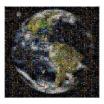 Mosaico Planeta Cócteles Posters