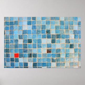 mosaico póster