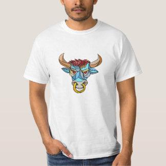 Mosaico principal enojado de Bull Poleras