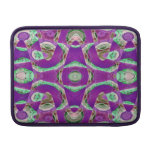 Mosaico púrpura de lujo fundas macbook air