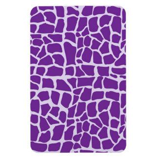 Mosaico púrpura del modelo de la jirafa imanes flexibles