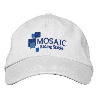 Mosaico que compite con el gorra ajustable gorras de béisbol bordadas