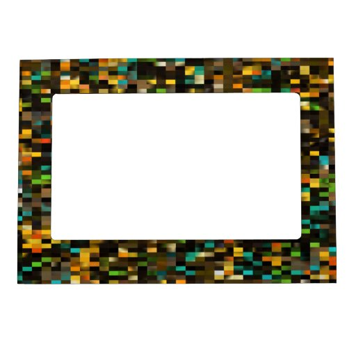 Mosaico retro foto de imanes