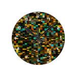Mosaico retro relojes