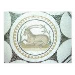 Mosaico romano postal