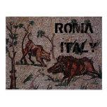 Mosaico romano tarjetas postales