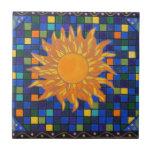 Mosaico Sun Azulejo Cuadrado Pequeño