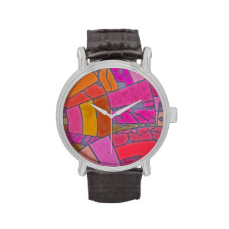 Mosaico TPD abstracto Relojes