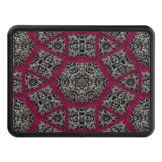 Mosaico venoso blanco negro gótico de Fuschia