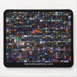 Mosaico X.25 de la blasfemia 25 de Digitaces Mouse Pad