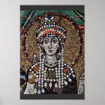 Mosaicos de Chor en San Vitale en Ravena, Szene: E Impresiones
