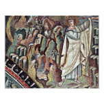 Mosaicos de Chor en San Vitale en Ravena, Szene: Invitación 10,8 X 13,9 Cm