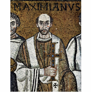 Mosaicos de Chor en San Vitale en Ravena, Szene: K Escultura Fotografica