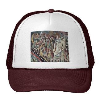 Mosaicos de Chor en San Vitale en Ravena, Szene: M Gorra