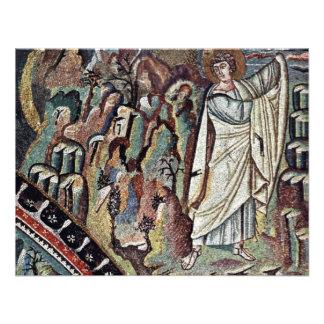 Mosaicos de Chor en San Vitale en Ravena Szene M Comunicado