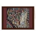 Mosaicos de Chor en San Vitale en Ravena, Szene: M Felicitacion