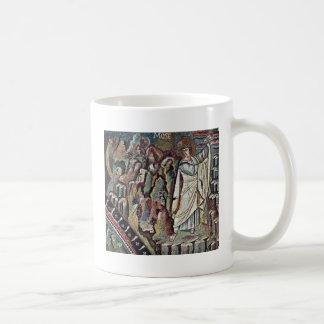 Mosaicos de Chor en San Vitale en Ravena, Szene: M Tazas De Café