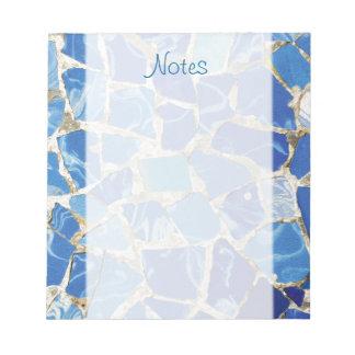 Mosaicos de Gaudi con un tacto del aceite Blocs