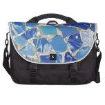 Mosaicos de Gaudi con un tacto del aceite Bolsas De Ordenador