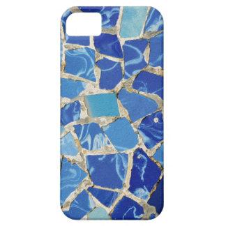 Mosaicos de Gaudi con un tacto del aceite iPhone 5 Funda
