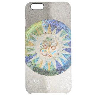 Mosaicos de Guell del parque Funda Clear Para iPhone 6 Plus