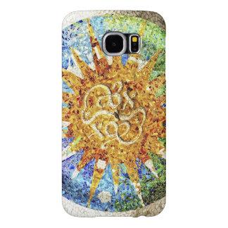 Mosaicos de Guell del parque Funda Samsung Galaxy S6