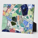 Mosaicos de Guell del parque Placas