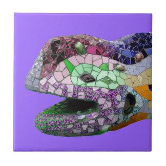 Mosaicos de la cabeza del lagarto de Gaudi Tejas Ceramicas