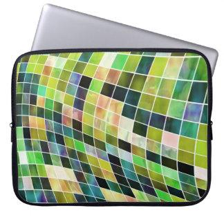 Mosaicos de la perla mangas portátiles