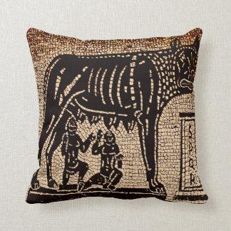 Mosaicos de Roma Italia Cojín