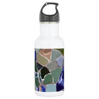 Mosaicos del azul de Gaudi