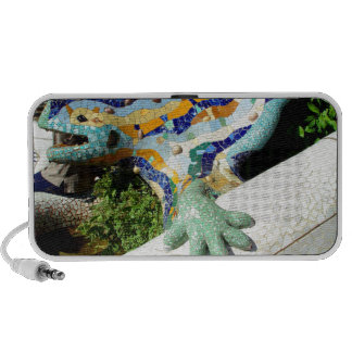 Mosaicos del lagarto de Gaudi Mp3 Altavoz