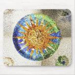 Mosaicos Mousepad de Guell del parque