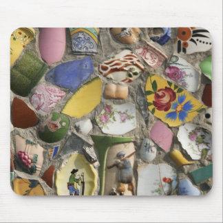 Mosaicos retros tapetes de ratones