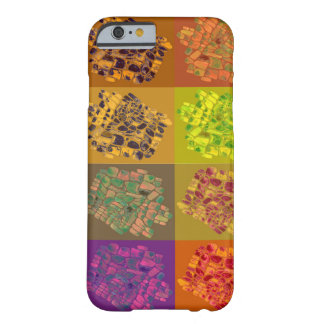 mosaics in color squares barely there iPhone 6 case